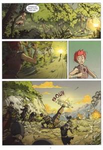 Page 4 du Comics Maskemane N°5