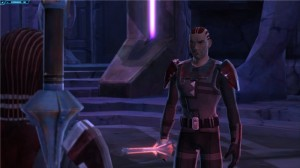 Star Wars : The Old Republic, 2 sith sur le point de se battre