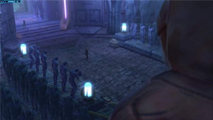 Star Wars : The Old Republic, point de vue cinématographique d'une action