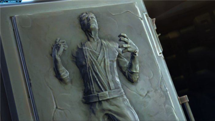 Star Wars : The Old Republic, quelqu'un est dans la carbonite