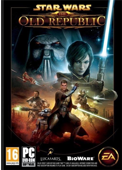 Couverture du jeu Star Wars : The Old Republic