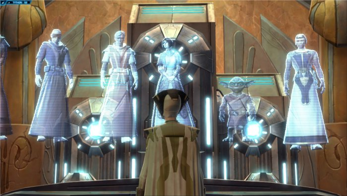 Star Wars : The Old Republic, discussion entre jedi