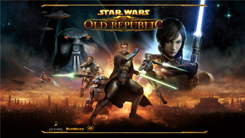 Star Wars : The Old Republic écran de chargement