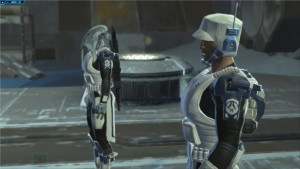 Star Wars : The Old Republic des soldats sur Hoth
