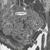 Vue de Dalaran attaquée par les dragons Bleux dans le manga Mage (Warcraft)