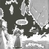 Cristal de Dalaran qui permet à la ville de léviter dans le manga Mage (Warcraft)