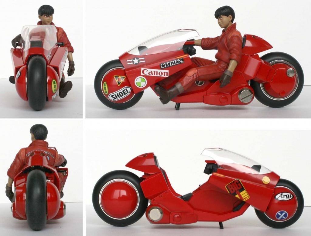 Akira : Moto de Kaneda - ech 1/15 (Bandai)