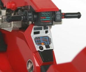 Tableau de bord de la moto de Kaneda (Bandai)