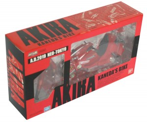 Packaging face - Kaneda's Bike / moto de Kaneda - ech 1/15 (Bandai)