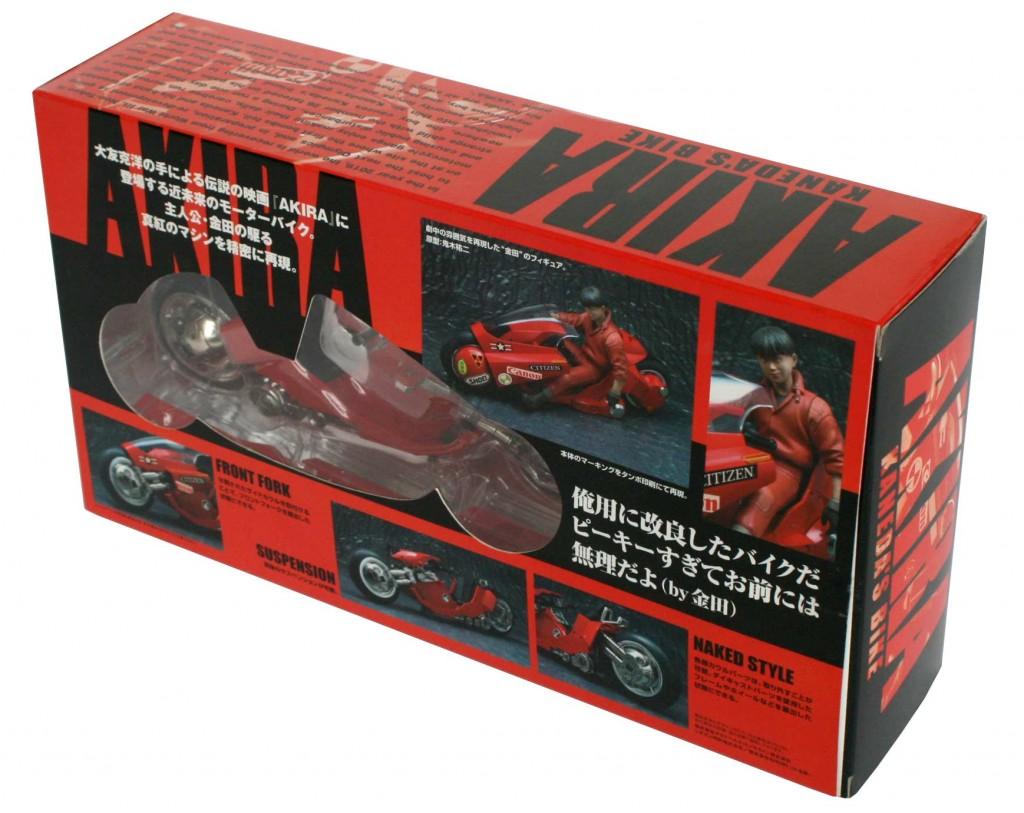 Packaging dos - Kaneda's Bike / moto de Kaneda - ech 1/15 (Bandai)