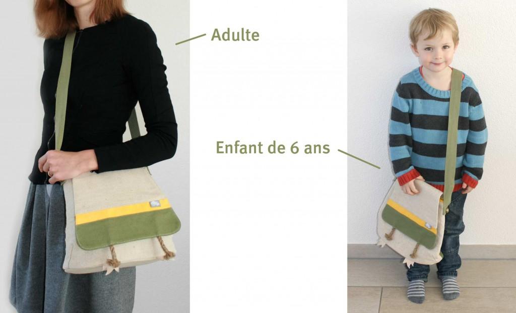 Le Havre Sac est plus adapté à un adulte qu'un enfant (Wakfu)