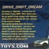 Dos du Packaging Initial D : Mazda RX 7 FD3S - ech 1/18 (Jada Toys)