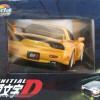 gauche du Packaging Initial D : Mazda RX 7 FD3S - ech 1/18 (Jada Toys)