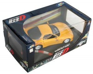 Packaging Initial D : Mazda RX 7 FD3S - ech 1/18 (Jada Toys)
