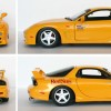 Initial D : Mazda RX 7 FD3S - ech 1/18 (Jada Toys) - Turn over