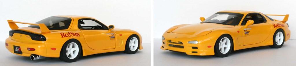 Initial D : Mazda RX 7 FD3S - ech 1/18 (Jada Toys)