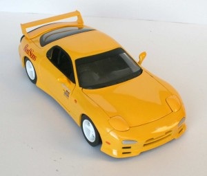 Mazda RX 7 FD3S - ech 1/18 (Jada Toys) - Initial D