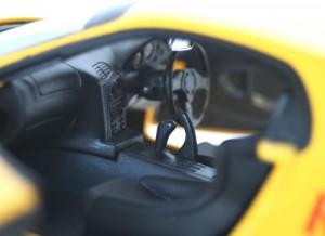 habitacle Mazda RX 7 FD3S - ech 1/18 (Jada Toys) - Initial D