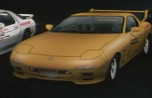 Mazda RX 7 FD3S de Keisuke Takahashi (Initial D)