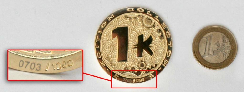 Le Kama est plus gros qu'un euro (tirage 1200 exemplaires)
