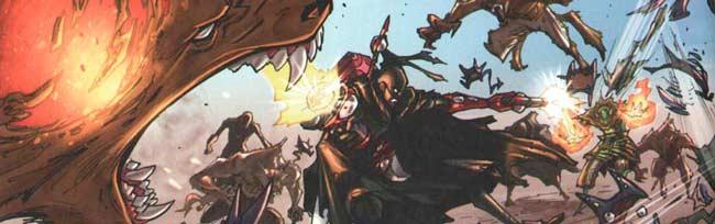 Remington est attaqué par les monstres invoqués par un osamodas
