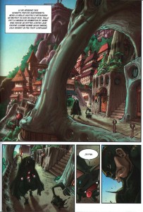 Page 1 du comics Remington N°7 (Wakfu)