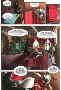 Page 4 du comics Remington N°7 (Wakfu)