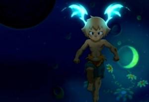Les ailes sur la tête de Yugo évoquent Morrigan Aensland tirée du jeu vidéo Darkstalkers