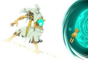 Yugo abandonne Qilby dans la Dimension Blanche