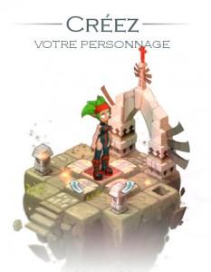 Personnalisation de son avatar (MMO Wakfu)