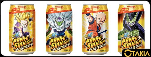 Dragon Ball cannettes Power Squash