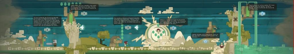 l'histoire d'Ogrest (Fresque Wakfu)