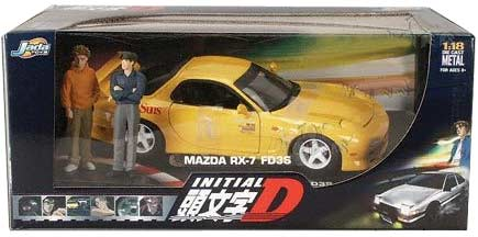 initial D : Mazda RX-7 avec les frères Takahashi