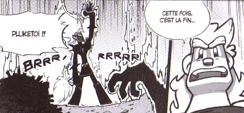 Dark Vlad dans le manga Dofus