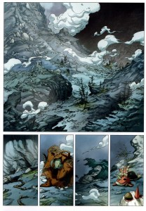 Page 1 du tome 6 de Maskemane