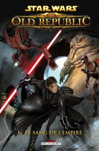Couverture du comics Star Wars : The Old Republic le sang de l'empire