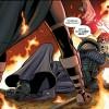 Premier combat entre Exal Kress et Teneb Kel à l'avantage de l'ancienne apprentie de l'empereur