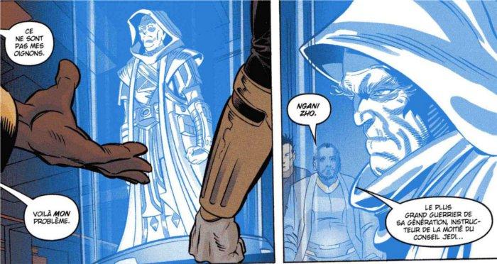 La mission de Theron Shan : retrouver le maître Jedi N'gani Zho