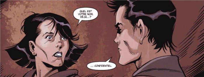 Theron va voir sa mère Satele Shan sans donner son identité réelle dans le comics Star Wars : The Old Republic - Soleils perdus