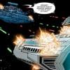 Un vasseau de l'Empire face à un vaisseau de la République. Qui a tiré en premier sur qui ?