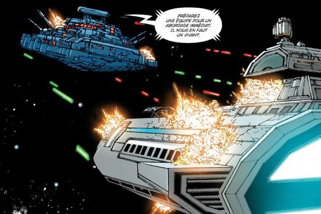 star wars the old republic comics le trait de coruscant combat spatial dans le comics. Black Bedroom Furniture Sets. Home Design Ideas
