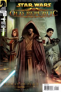 Couverture du comics Star Wars : The Old Republic, le traité de Coruscant (tome 1 américain)