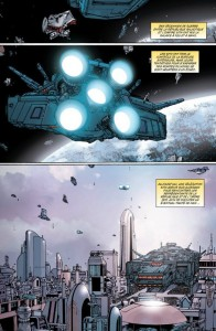 Page 1 du comics traité de paix de Star Wars : The Old Republic