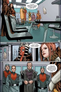 Page 2 du comics trait de paix de Star Wars : The Old Republic