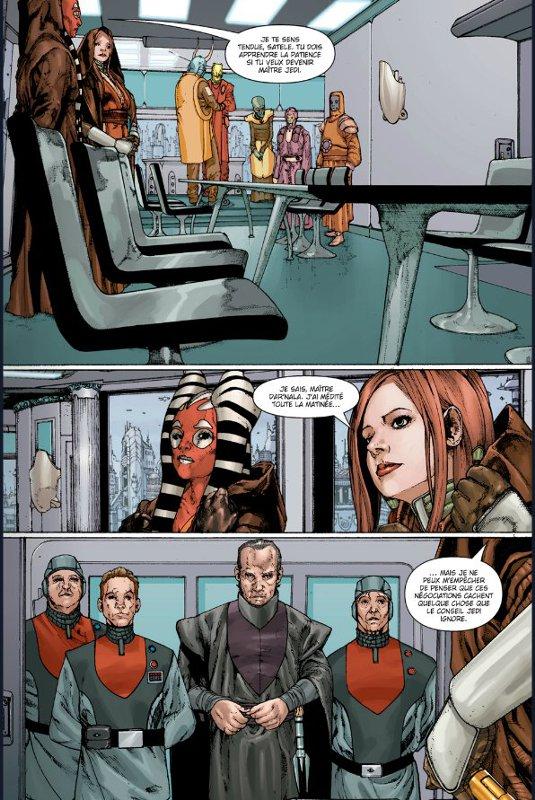 Page 2 du comics traité de paix de Star Wars : The Old Republic