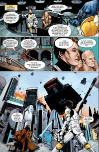Page 4 du comics traité de paix de Star Wars : The Old Republic