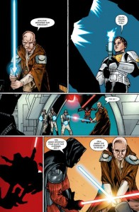 Page 6 du comics trait de paix de Star Wars : The Old Republic