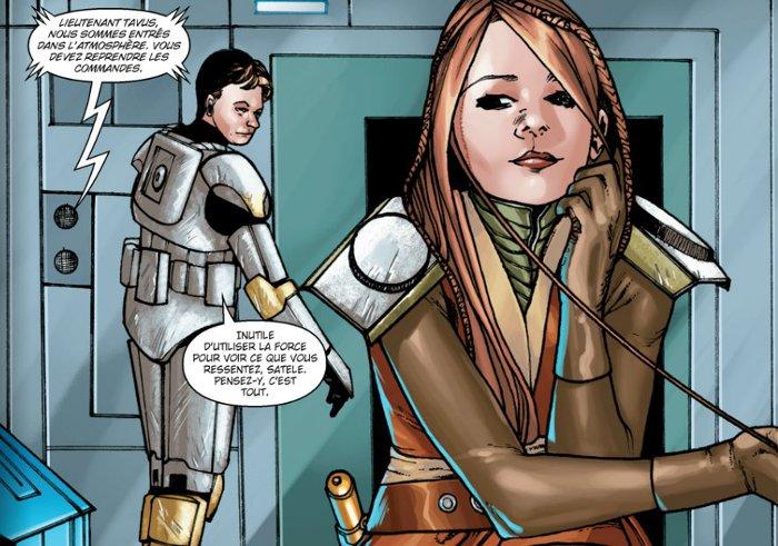 Satele Shan amoureuse du commandant Tavus ?