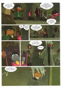 Page 2 du comics Numéro 4 de Boufbowl (Wakfu)