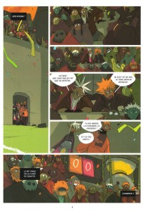 Page 3 du comics Numéro 4 de Boufbowl (Wakfu)